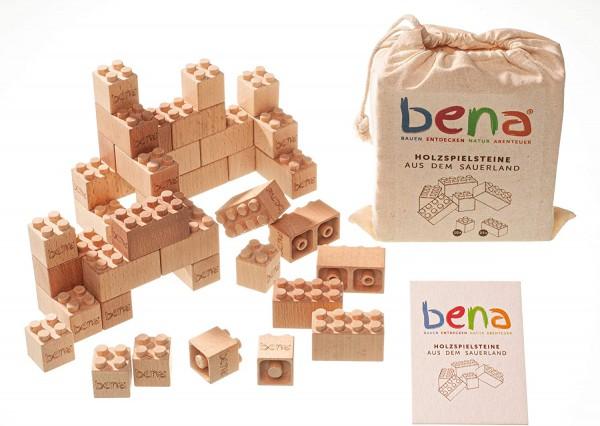 Bena Holzspielsteine 96 Teile Set